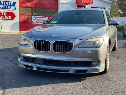 2012 BMW 7 Series for sale at Milford Automall Sales and Service in Bellingham MA
