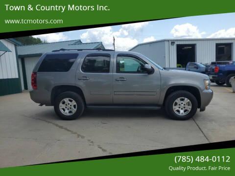 2009 Chevrolet Tahoe for sale at Town & Country Motors Inc. in Meriden KS