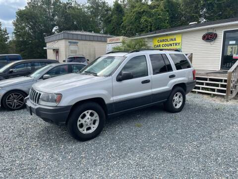 2003 Jeep Grand Cherokee for sale at Carolina Car Country in Little River SC