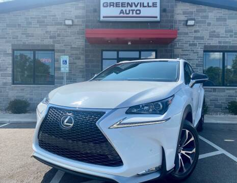 2017 Lexus NX 200t for sale at GREENVILLE AUTO in Greenville WI