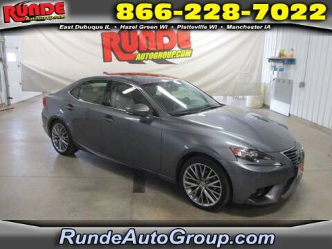 2015 Lexus IS 250 for sale at Runde Chevrolet in East Dubuque IL