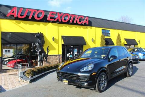 2018 Porsche Cayenne for sale at Auto Exotica in Red Bank NJ
