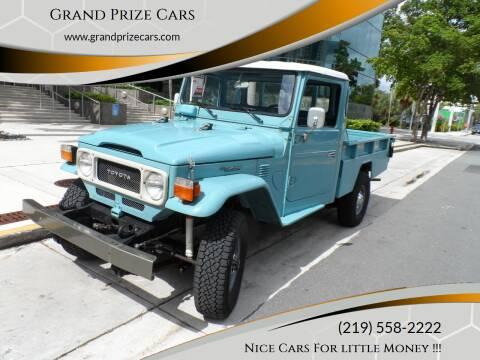 1984 Toyota Land Cruiser FJ45 Pickup for sale at Grand Prize Cars in Cedar Lake IN