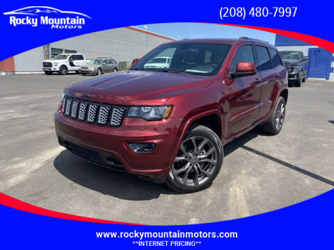 2018 Jeep Grand Cherokee for sale at Rocky Mountain Motors in Idaho Falls ID