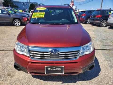 2009 Subaru Forester for sale at Cape Cod Cars & Trucks in Hyannis MA