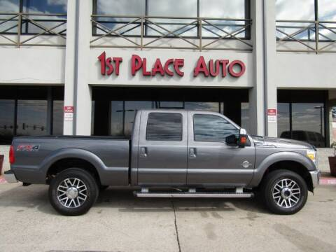 2012 Ford F-250 Super Duty for sale at First Place Auto Ctr Inc in Watauga TX