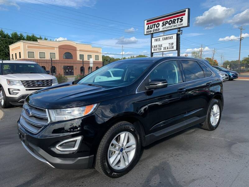 2018 Ford Edge for sale at Auto Sports in Hickory NC