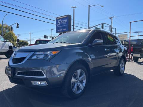 2012 Acura MDX for sale at 5 Star Auto Sales in Modesto CA