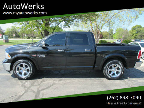 2017 RAM Ram Pickup 1500 for sale at AutoWerks in Sturtevant WI