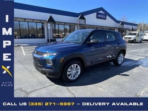 2021 Chevrolet TrailBlazer for sale at Impex Auto Sales in Greensboro NC