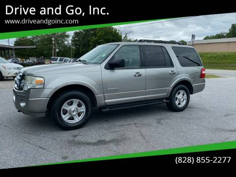 2008 Ford Expedition for sale at Drive and Go, Inc. in Hickory NC