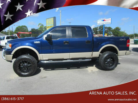 2008 Ford F-150 for sale at ARENA AUTO SALES,  INC. in Holly Hill FL