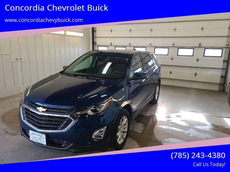 2020 Chevrolet Equinox for sale at Concordia Chevrolet Buick in Concordia KS