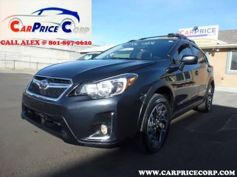 2016 Subaru Crosstrek for sale at CarPrice Corp in Murray UT