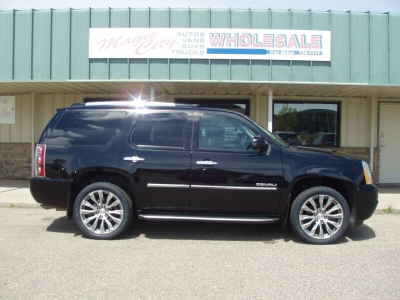 2014 GMC Yukon for sale at Magic City Wholesale in Minot ND