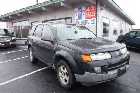 2003 Saturn Vue for sale at 777 Auto Sales and Service in Tacoma WA