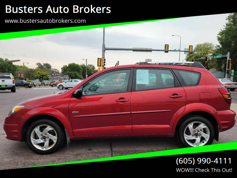 2004 Pontiac Vibe for sale at Busters Auto Brokers in Mitchell SD