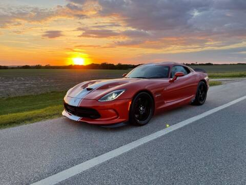 2015 Dodge Viper for sale at Summit Auto & Cycle in Zumbrota MN