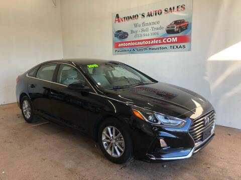 2019 Hyundai Sonata for sale at Antonio's Auto Sales in South Houston TX