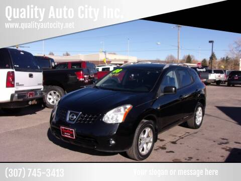 2008 Nissan Rogue for sale at Quality Auto City Inc. in Laramie WY