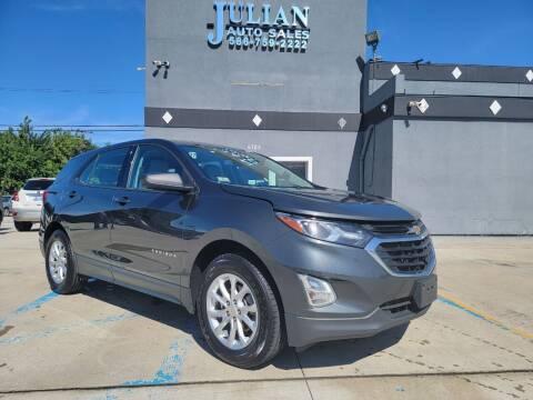 2019 Chevrolet Equinox for sale at Julian Auto Sales, Inc. in Warren MI