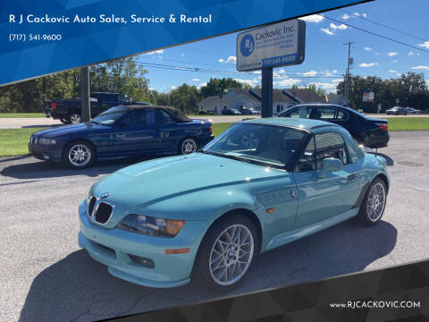 1996 BMW Z3 for sale at R J Cackovic Auto Sales, Service & Rental in Harrisburg PA