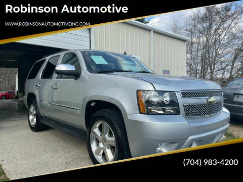 2013 Chevrolet Tahoe for sale at Robinson Automotive in Albemarle NC