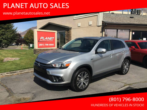 2019 Mitsubishi Outlander Sport for sale at PLANET AUTO SALES in Lindon UT
