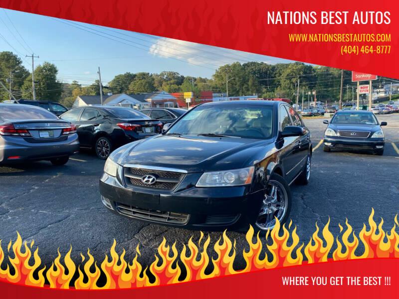 2008 Hyundai Sonata for sale at Nations Best Autos in Decatur GA