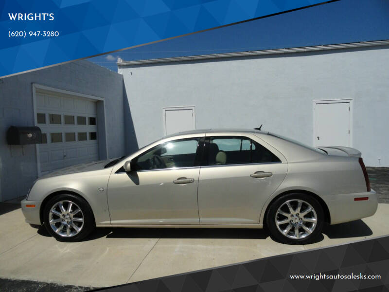 2007 Cadillac STS for sale at WRIGHT'S in Hillsboro KS