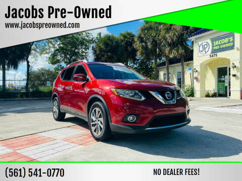 2015 Nissan Rogue for sale at Jacobs Pre-Owned in Lake Worth FL