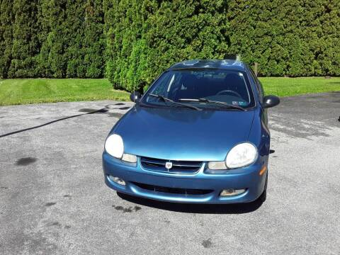 2002 Dodge Neon for sale at Dun Rite Car Sales in Downingtown PA