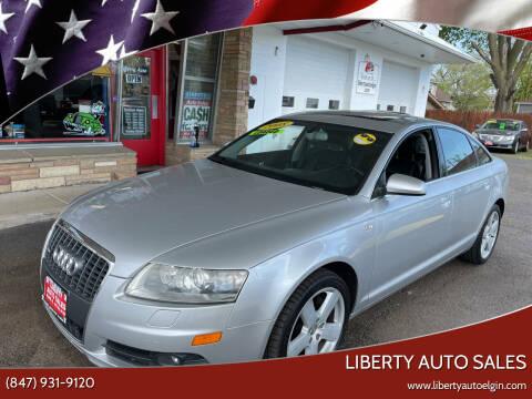 2008 Audi A6 for sale at Liberty Auto Sales in Elgin IL
