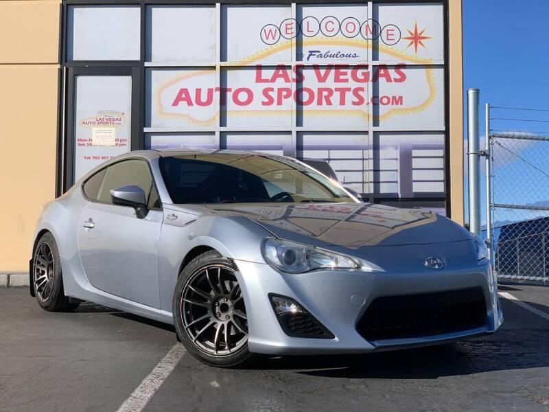 2016 Scion FR-S for sale at Las Vegas Auto Sports in Las Vegas NV