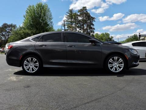 2015 Chrysler 200 for sale at Northwest Premier Auto Sales in West Richland And Kennewick WA
