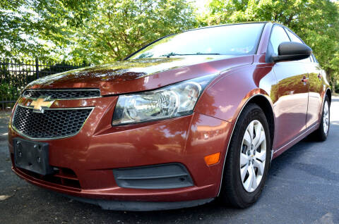 2012 Chevrolet Cruze for sale at Wheel Deal Auto Sales LLC in Norfolk VA