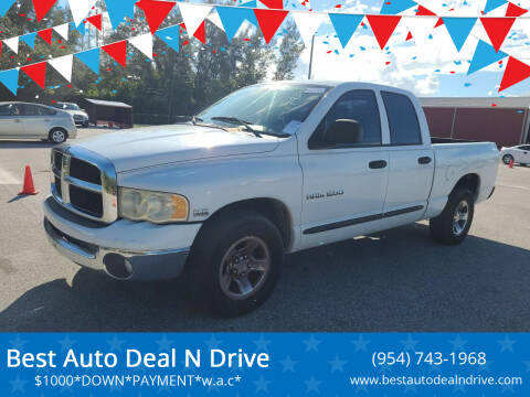 2004 Dodge Ram Pickup 1500 for sale at Best Auto Deal N Drive in Hollywood FL