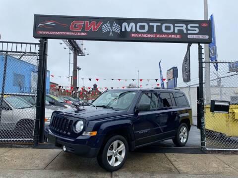 2012 Jeep Patriot for sale at GW MOTORS in Newark NJ