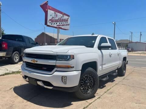 2018 Chevrolet Silverado 1500 for sale at Southwest Car Sales in Oklahoma City OK