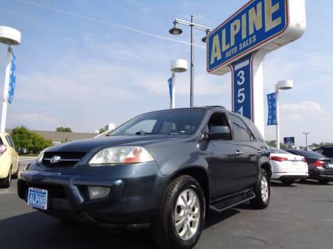 2003 Acura MDX for sale at Alpine Auto Sales in Salt Lake City UT