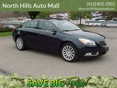2012 Buick Regal for sale at North Hills Auto Mall in Pittsburgh PA