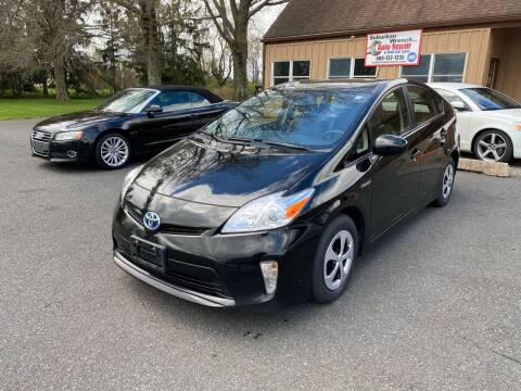 2014 Toyota Prius for sale at Suburban Wrench in Pennington NJ