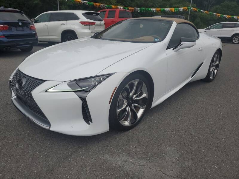 2021 Lexus LC 500 Convertible for sale at Mulligan's Auto Exchange LLC in Paxinos PA