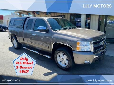 2011 Chevrolet Silverado 1500 for sale at Luly Motors in Lincoln NE