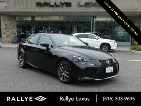 2017 Lexus IS 300 for sale at RALLYE LEXUS in Glen Cove NY
