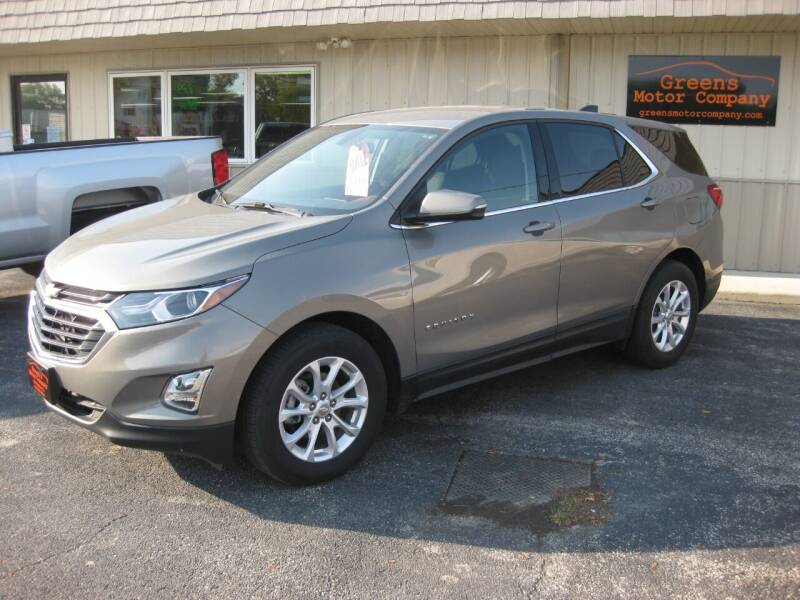 2018 Chevrolet Equinox for sale at Greens Motor Company in Forreston IL
