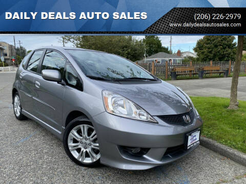 2009 Honda Fit for sale at DAILY DEALS AUTO SALES in Seattle WA