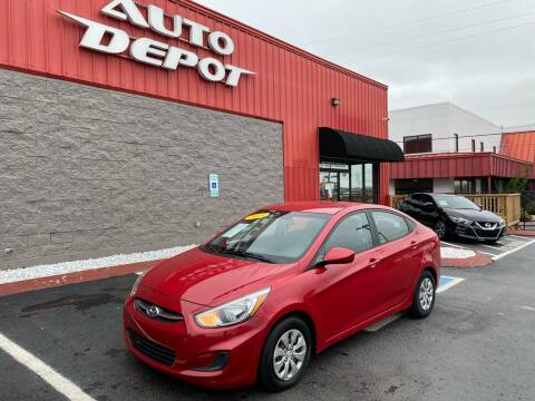 2015 Hyundai Accent for sale at Auto Depot - Nashville in Nashville TN