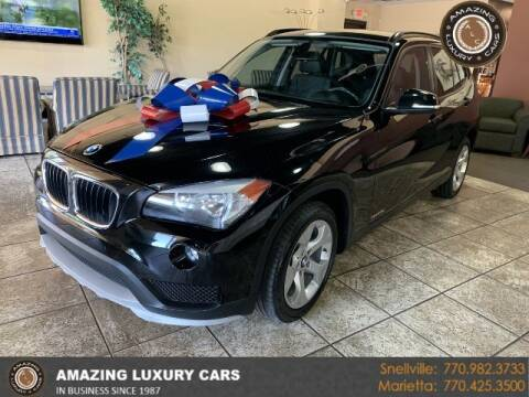 2015 BMW X1 for sale at Amazing Luxury Cars in Snellville GA