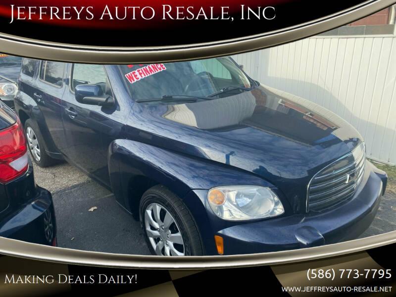 2011 Chevrolet HHR for sale at Jeffreys Auto Resale, Inc in Clinton Township MI